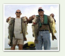 Lake Okeechobee - Central Florida Bass Fishing Guide Trips and Charters