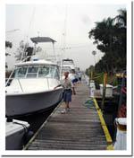 1000 Ft. of Lake Okeechobee waterway Dockage and Marina