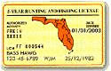 Florida Fishing License Information