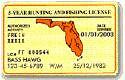 Florida Fishing License Information
