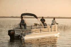 Pontoon boat Rental on Lake Okeechobee