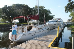 Roland and Mary Ann Martin's Marina & Resort Dockage Rental